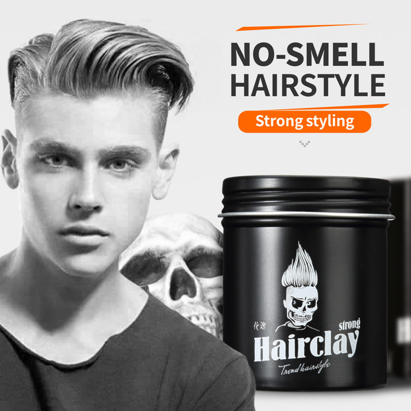 hair style wax no smell styling hair wax hair clay for create 3693