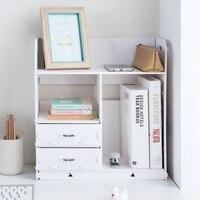 Домашний Органайзер для ванной комнаты деревянный держатель книги аксессуары для офисных столов шкаф для файлов с ящиком