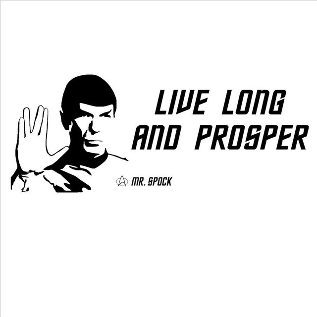 Spock Quotes Live Long And Prosper: Aliexpress.com : Buy STAR TREK SPOCK LEONARD NIMOY Live