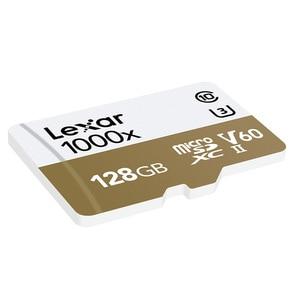 Image 4 - Lexar Micro carta di DEVIAZIONE STANDARD Professionale 1000x150 MB/s 32GB Classe 10 64GB 128GB TF lettore di Schede di Memoria Flash per Drone Videocamera di Sport