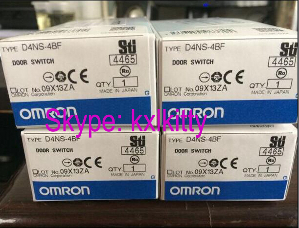 New and original D4NS-4BF, D4NS-1CF  OMRON  Door switch  Safety door lock switch mundorf mkp mcap supreme silver gold oil 1000 vdc 0 68 uf
