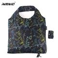 NAVO folding shopping bag 45x65cm large big shopper resuable shopping grocery bag for supermarket sac shopping reutilisable