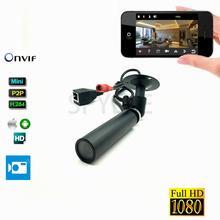 Фабричная CCTV всепогодный Onvif P2P совета объектива IP миниатюрного пуля Камера 1080 P для промышленности и шлем Открытый безопасности