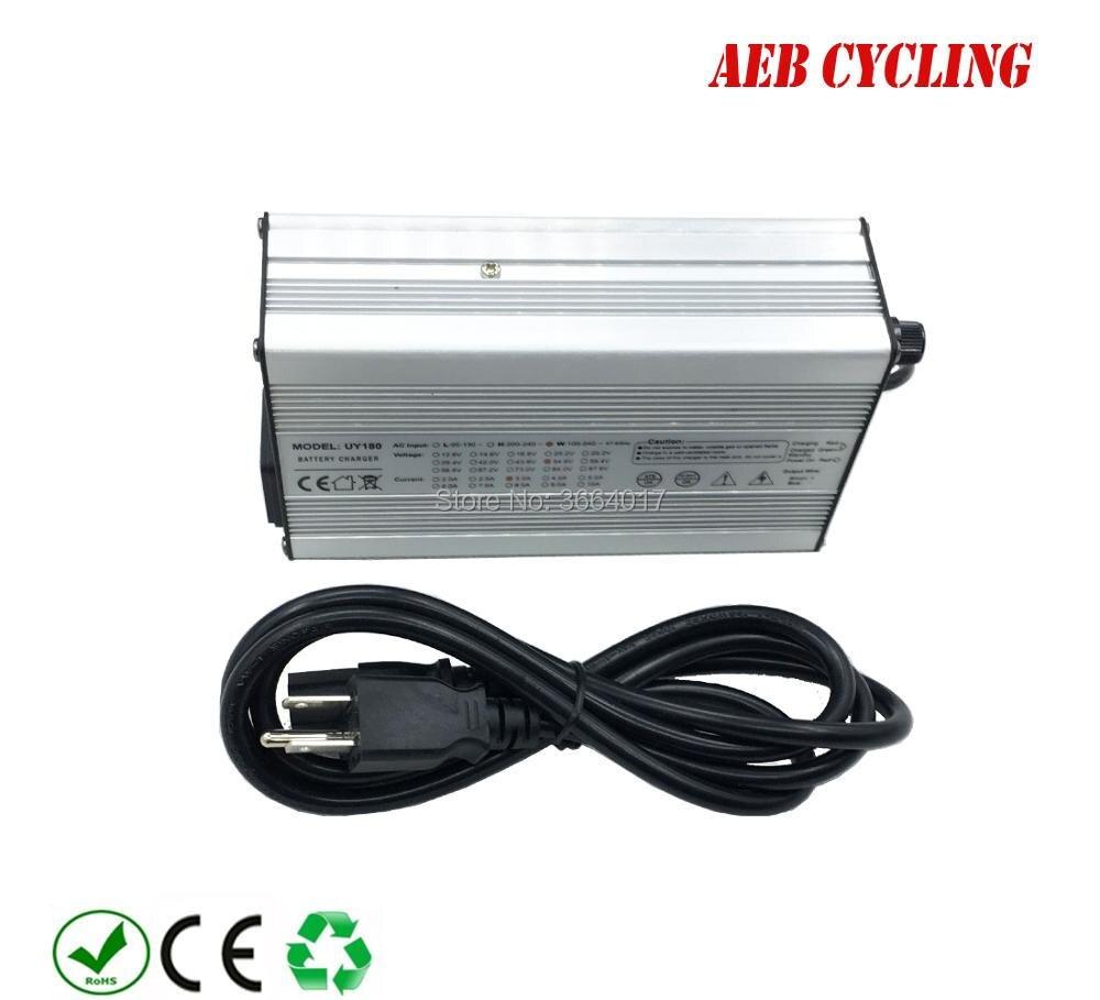 Free shipping 52V battery charger Li-ion 58.8V 3A battery charger for 52V down tube ebike battery hot sale b 05 48v10 4ah ebike tube battery