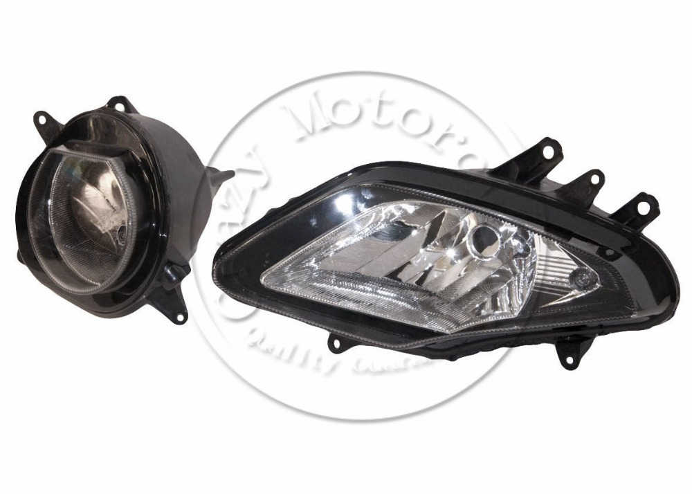 Motorcycle Front Headlight For BMW S1000R 2010 2011 2012 2013 S1000RR Head Light Lamp Assembly Headlamp Lighting Moto Parts motorcycle scooter electroplate front headlight headlamp head light lamp small mask cap cover shield large for yamaha bws x 125