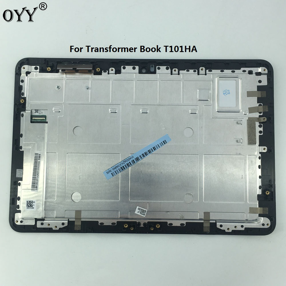 FP-ST101SI02IBKF -01X LCD Display Glass Panel Touch Screen Digitizer Assembly with frame For ASUS Transformer Book T101HA юбка broadway broadway br004ewccov2