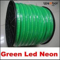 50 Meter GREEN Pvc Skin Led Neon 240V Input 90leds Each Meter 0 89Meter Per Cut