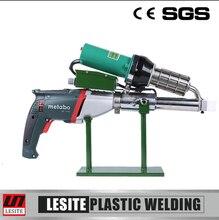 Hand extruder welding gun geomembrane hot air welding tool HDPE extrusion welder
