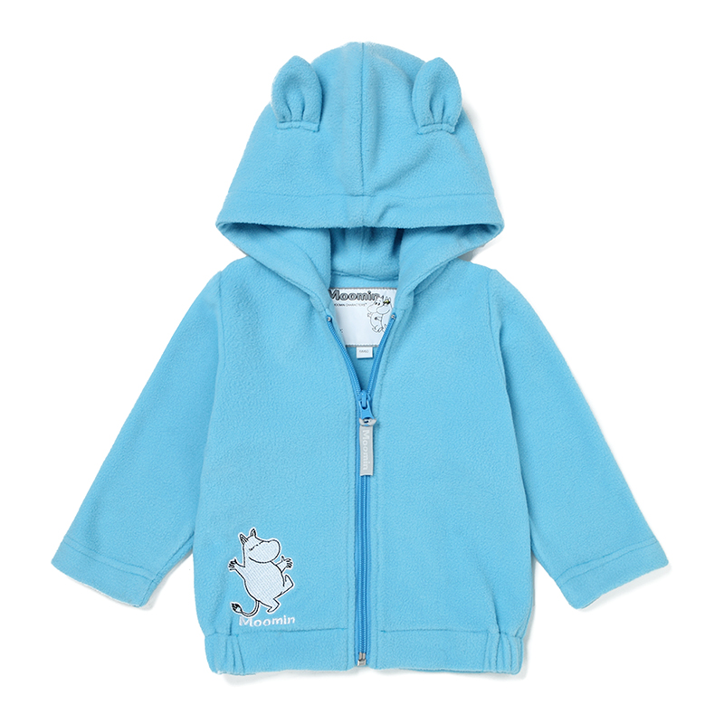 Happy Cherry Unisex Kids Polar Fleece Jacket Thicken Warm Hooded Long Sleeve Outerwear