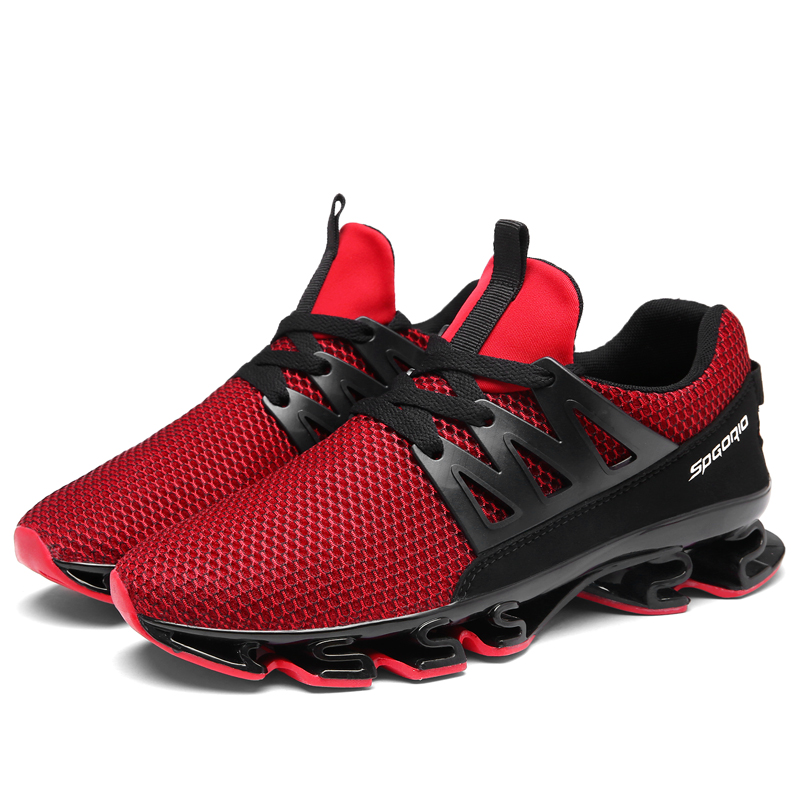 2019 Novas Sapatilhas Ocasionais Sapatos de Caminhada Masculinos Sapatos de Caminhada Ao Ar Livre Dos Homens Malha Respirável Macio Plus Size Homens Vulcanizada 48 Res sapatos