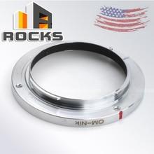 Адаптер для объектива Pixco OM nikk Focus Infinity 3, винт с тремя винтами, подходит для объектива Olympus SLR, объектива для камеры Nikon D750, D810, D4S