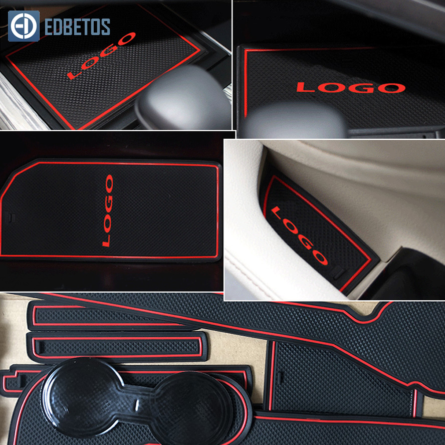 Image 5 - Anti Dirty Pad For Toyota Camry 2012 2017 7 Gen XV50 Altis Aurion 50 MK7 Door Groove Gate Slot Coaster Anti Slip Mat-in Anti-Slip Mat from Automobiles & Motorcycles