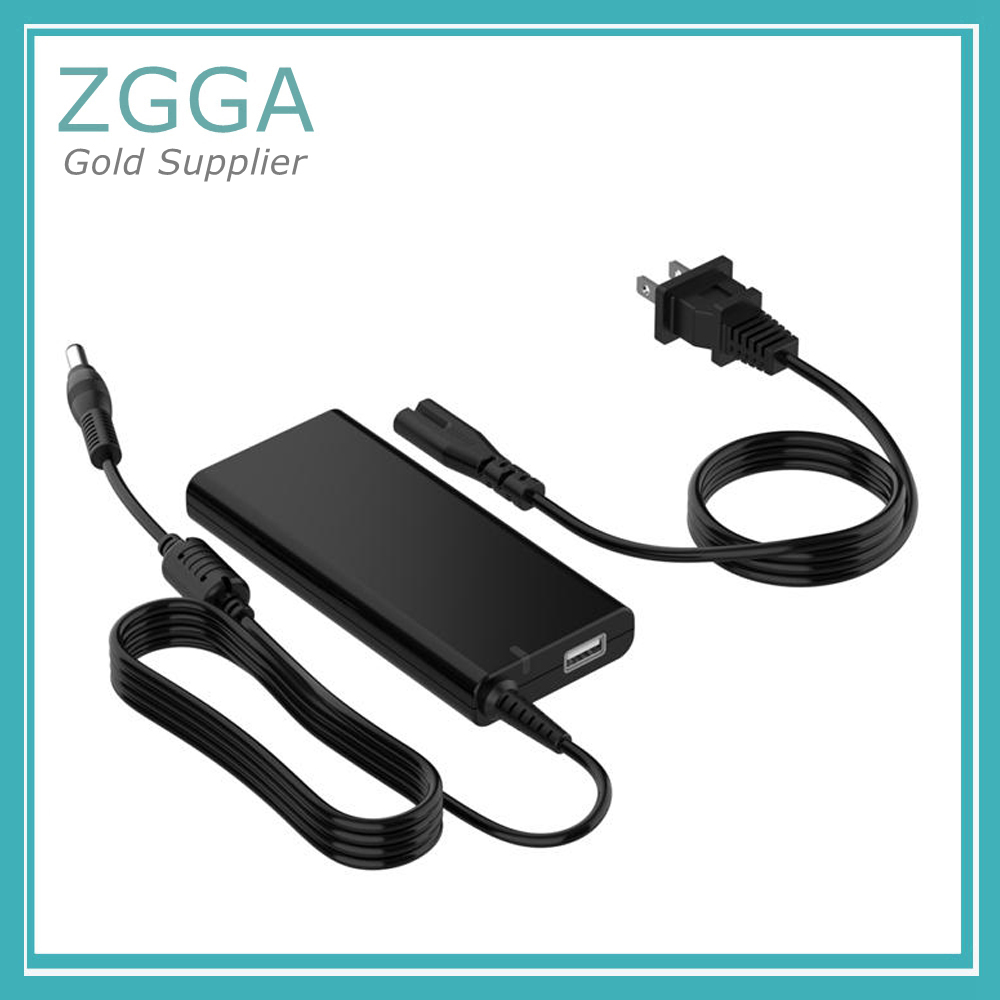AC DC 19V 3.16A Slim Laptop Power Supply 60 Watt Adapter Charger With USB Plug 5V For PA-4 ADP-70BB 1243C PA-5 Notebook 120w ac power adapter charger for hp ppp016l e pa 1121 42hq ppp016c ppp016h pc charger 18 5v 6 5a