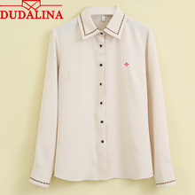 Ladies Blouses Camisa Solid