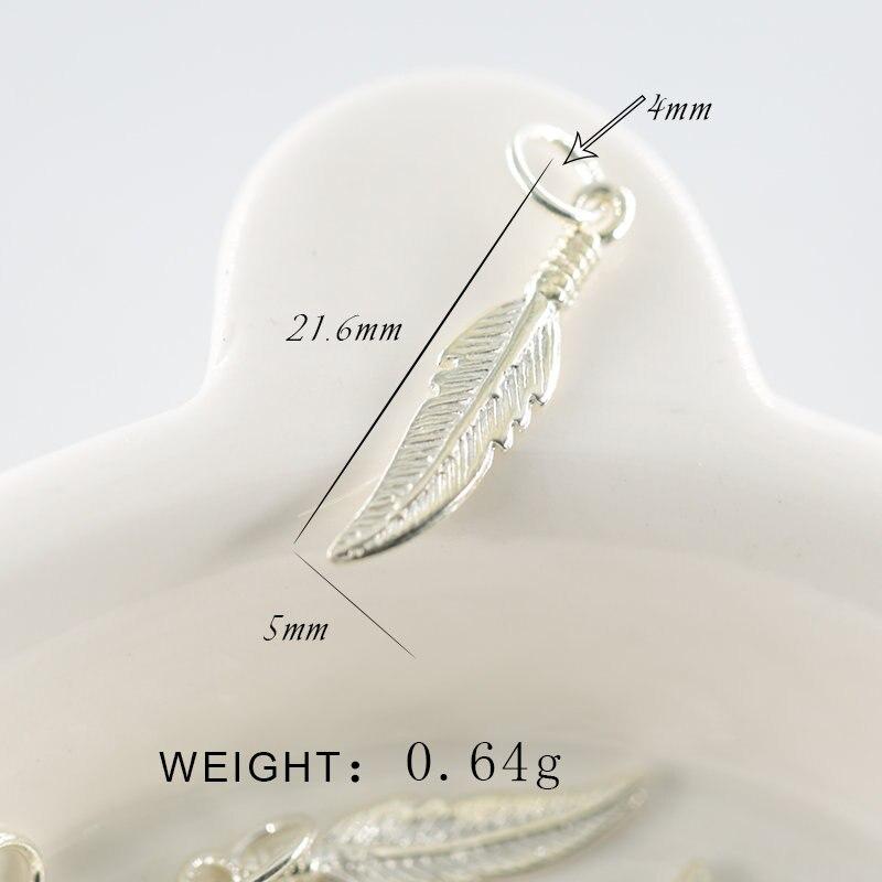 Vjollcë 100% e vërtetë 925 e vërtetë argjendi e pastër Charms - Bizhuteri të modës - Foto 4