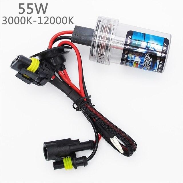55W H1 H3 H7 H11 9005 9006 HID Xenon Bulb Lamp DC 12V Car Auto