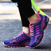 2017 Size 35 46 Lovers Shoes Woman Sneakers Women Running Sport Shoes Brand Breathable Trainers Zapatillas