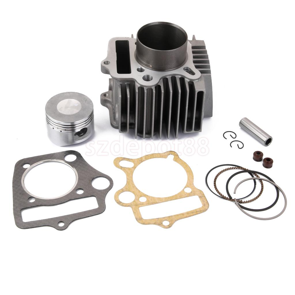 PIT BIKE 110CC CYLINDER PISTON 52 4MM BARREL REBUILD KIT 110 LIFAN JUICEBOX