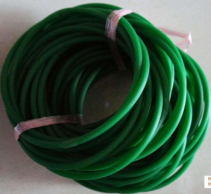 Polyurethane belt PU round belt with green belt 2/3/4/5/6/7/8/9/10/12mm green orange transparent pu round belt polyurethane drive belt smooth and rough surface for sale