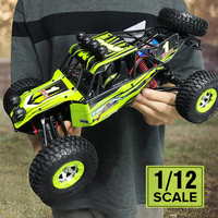 Rc Car 1/12 4WD 2.4G 50km/h High Speed Remote Control Car Truck Radio Controlled Machine With EU Plug