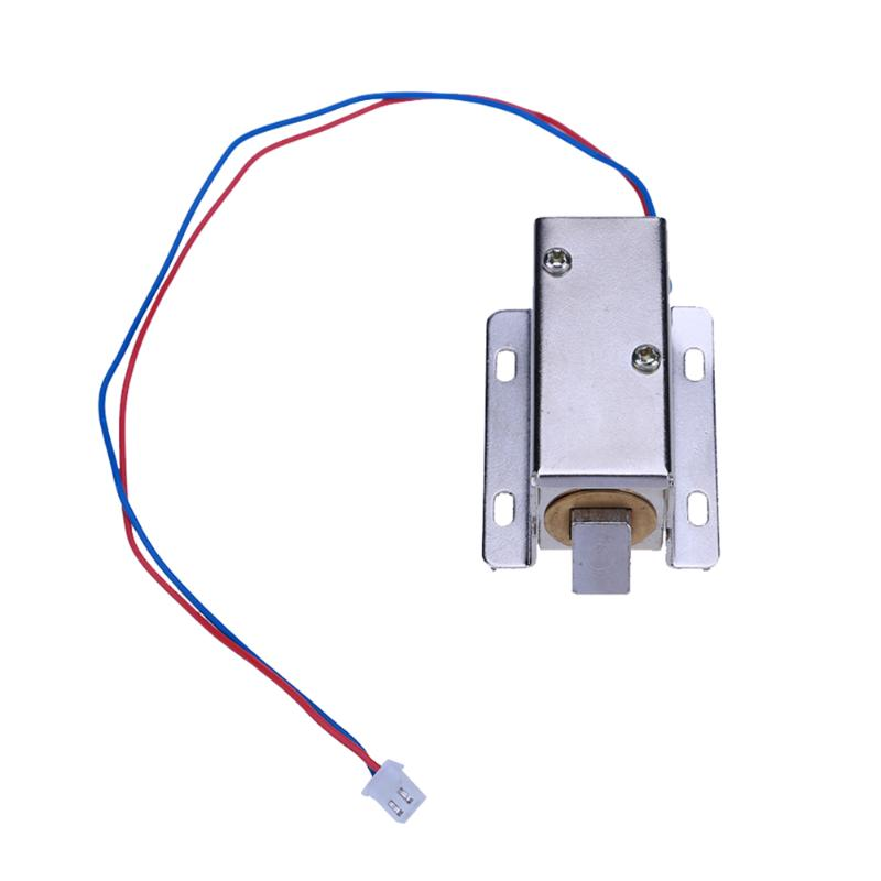 A23-24V Square Electromagnetic Electronic Lock Actuator Solenoid Lock DC 24V Small Electric Control Cabinet Drawer Locker dc 24v 0 77a door lock tubular electric solenoid coil