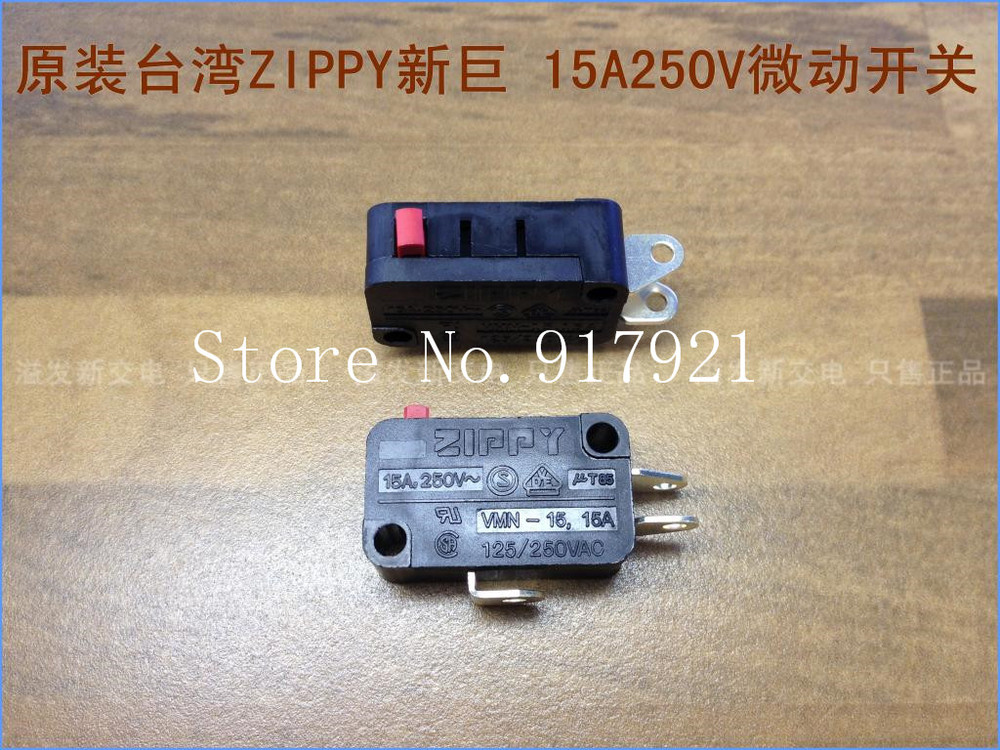 [ZOB] The original Taiwan ZIPPY VMN-15 15A 15A 250V imported micro switch limit travel switch --50pcs/lot