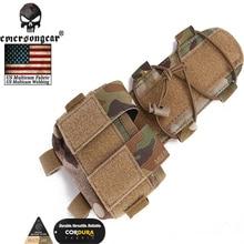 EmersonGear Helmet MK2 Battery Case BK RG Ranger Green  Multicam Tactical Counterweight Pouch Free shipping