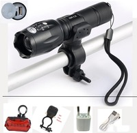USB Flashlight 8000 Lumens LED CREE XM T6 L2 Front Torch Bicycle Light Cycling Lamp USB