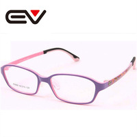 Kids Slim Lightweight Super Tough Optical Glasses Boys TR90 Myoptia Glasses Frame Girls Cartoon Cute Eyewear