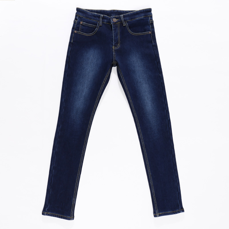 2018New Fashion Mens Designers Straight Cotton Stretch blue Jeans