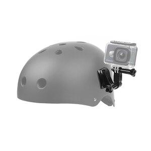 Image 5 - Bắn Cho Gopro 9 Phụ Kiện Bộ Mũ Bảo Hiểm Bề Mặt Đế 3 Cách Gắn Chân Máy Cho GoPro Hero 9 8 7 6 5 Xiaomi Yi 4K Sjcam Sj4000 Eken