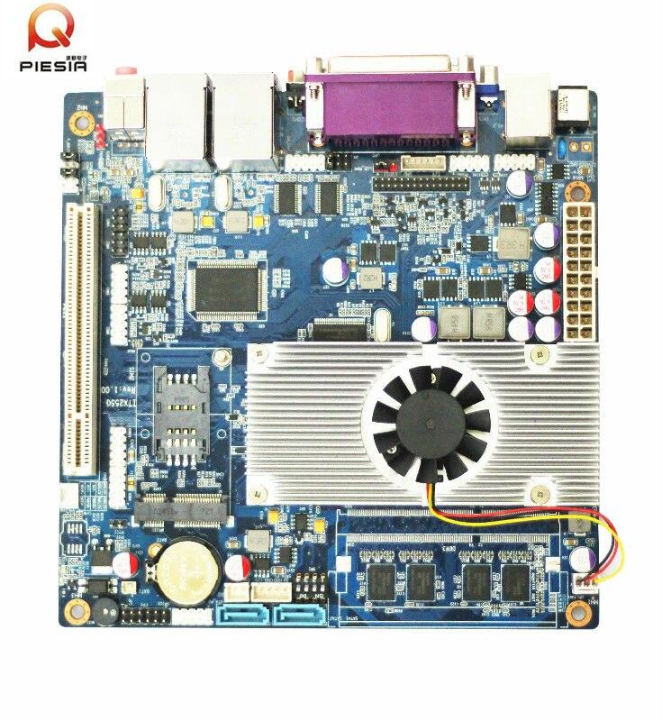 все цены на  High Performance D2550 atom motherboard mini itx mother board with small fan  онлайн