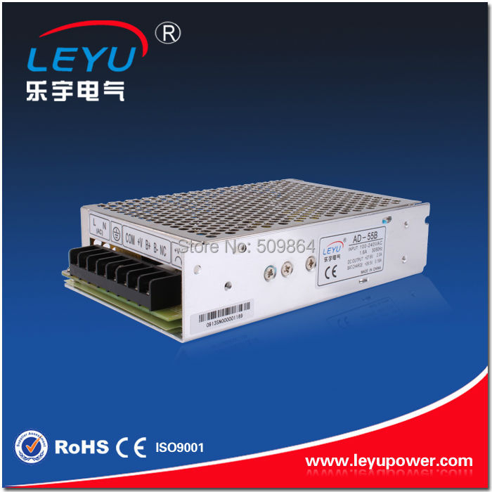 AD-55B CE RoHS Approved 55w 27.6v battery backup power supplies with UPS function SMPS