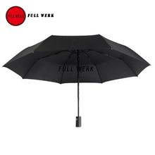 1 шт. автоматический складной зонт дождь Зонт Качество Ветрозащитный УФ подходит для Тесла модель S X автомобиль аксессуары для интерьера