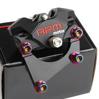 8 7 220mm Universal RPM Motorcycle Rear Brake Set CNC Scooter Brake Caliper Disc Pump Adapter