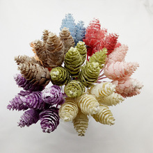 DIY artificial plants false plant Forest Series handmade color pineapple grass decorative wreath boutonniere wall flower AQ203
