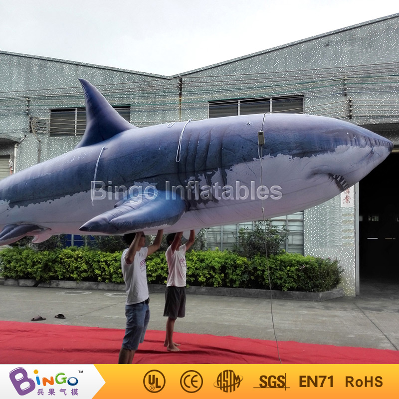 8M / 26ft inflatable shark model for ocean theme decoration with free shipping marine toy 5m 16ft summer inflatable killer whale replica inflatable fish inflatable amusement ocean toy with free blower outdoor toy