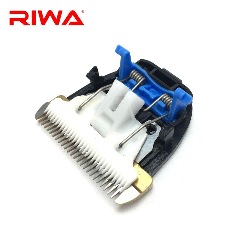 Машинка для стрижки волос RIWA с титановой керамической головкой, аксессуары для укладки волос на RE-750A