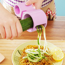 Espiral vegetal + Afilador Zanahoria Rallador Doble Rallado Cortadora Accesorios de Cocina de Alta calidad