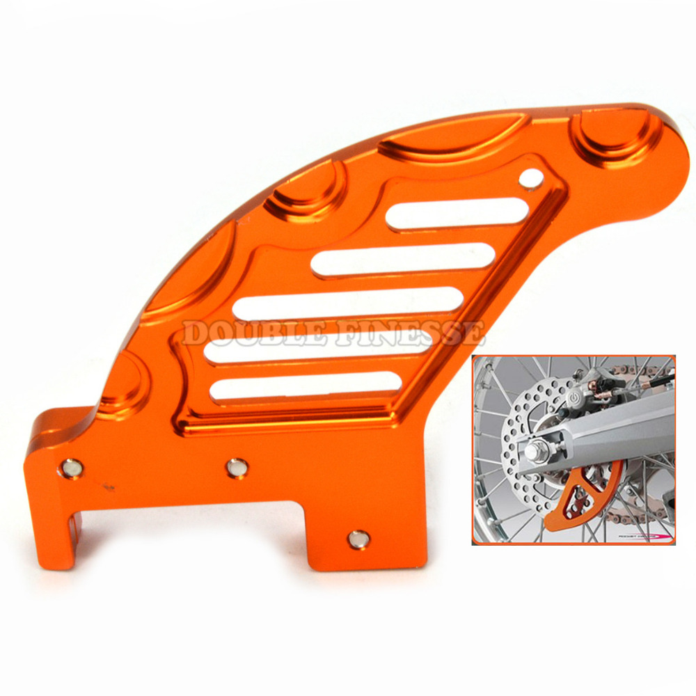 Orange Color New Hot Selling Motorcycle Rear Brake Disc Guard Potector FOR KTM300 XC/XCW2006-2014 KTM300 EXC/MXC2003-2005 motorcycle front and rear brake pads for ktm xc 250 xc 300 2006 2008 exc mxc 300 2004 2006 black brake disc pad