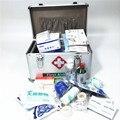 Алюминиевая медицинская коробка, аптечка, набор для выживания, запираемый органайзер для лекарств, запираемый чехол для хранения лекарств