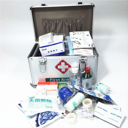 Aluminium Medische Doos ehbo-kit Survival Kits Afsluitbare Medicatie Organizer Afsluitbare Emergency Geneeskunde Opslag Draagtas