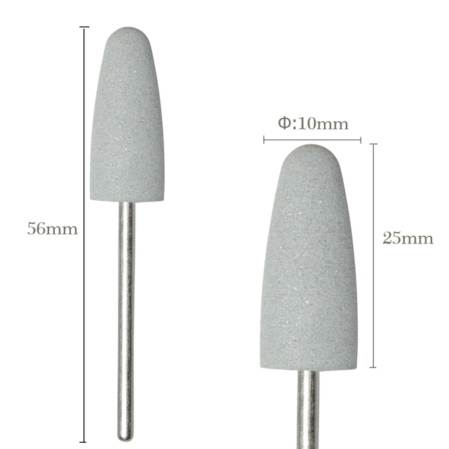 1pcs Nail Drill Bits Silicone Grinder for Nail Polish Rotary Burr Cuticle Cutter for Manicure Electric Accessories Tools BEGJ03