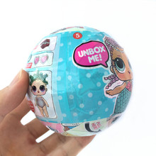 Series 2 LOL Surprise Doll Unpacking Dress Up Dolls Baby Funny Toy Surprise Egg Ball Let's Be Friends Toys For Girls Best Gift