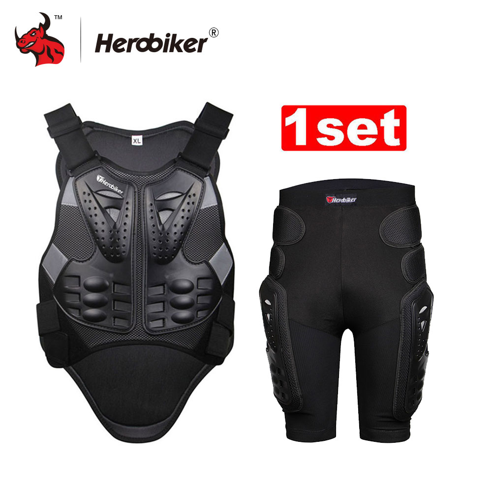 HEROBIKER Motorcycle jacket Motorcycle Armor Motorcycles Riding Chest And Back Protector Armor Motocross Off-Road Racing VestHEROBIKER Motorcycle jacket Motorcycle Armor Motorcycles Riding Chest And Back Protector Armor Motocross Off-Road Racing Vest
