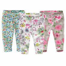 3 PCS/LOT Baby Pants Summer & Spring Fashion Cotton Infant Leggings Newborn Boy Pants Baby Girl Clothing 0-4Y Baby Trousers