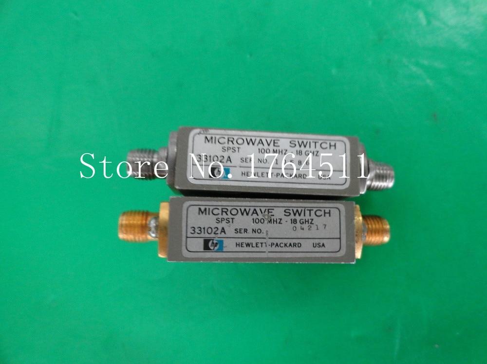 [BELLA] Original 33102A 0.1- 18GHz Single Throw RF -