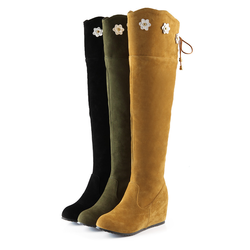 Online Get Cheap Womens Thigh High Boots Flowers -Aliexpress.com ...