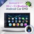 Quad core 1024*600 2DIN 178*100 Android 5.1 Автомобильный GPS стерео радио и Универсальный камера WI-FI RDS FM Зеркало Ссылка НЕТ DVD