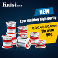 Replacement accessoires tools Kaisi Solder wire High-purity disposable solder cable tin wire 50g 0.3 0.4 0.5 0.6mm free shipping